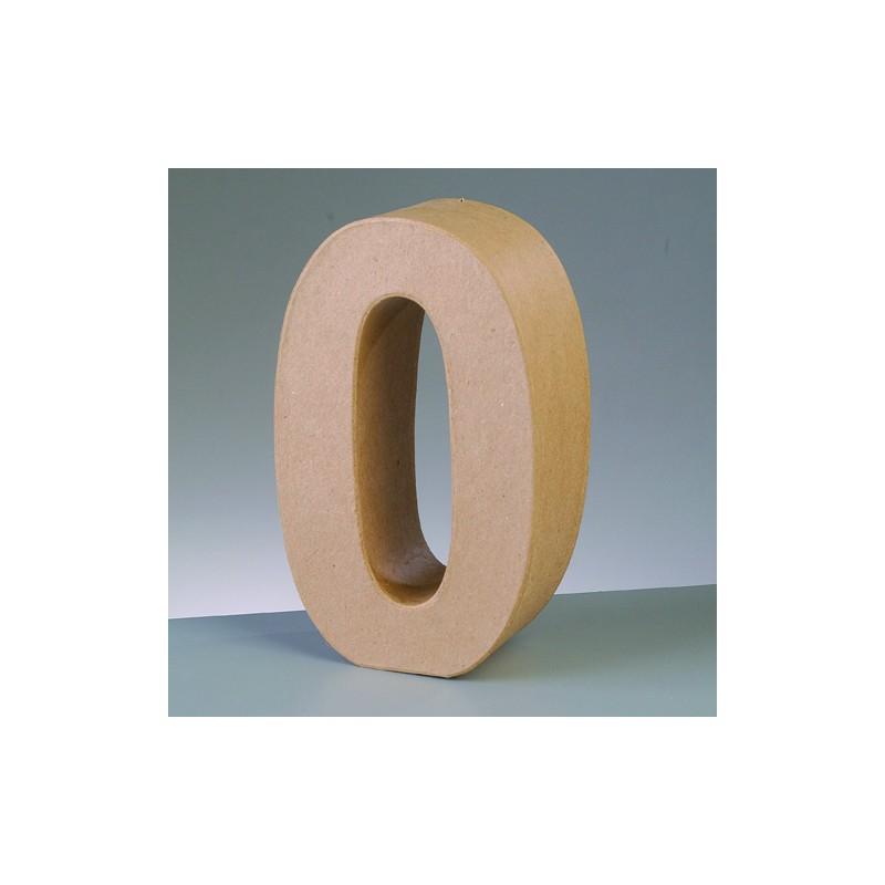 Número cartón 0