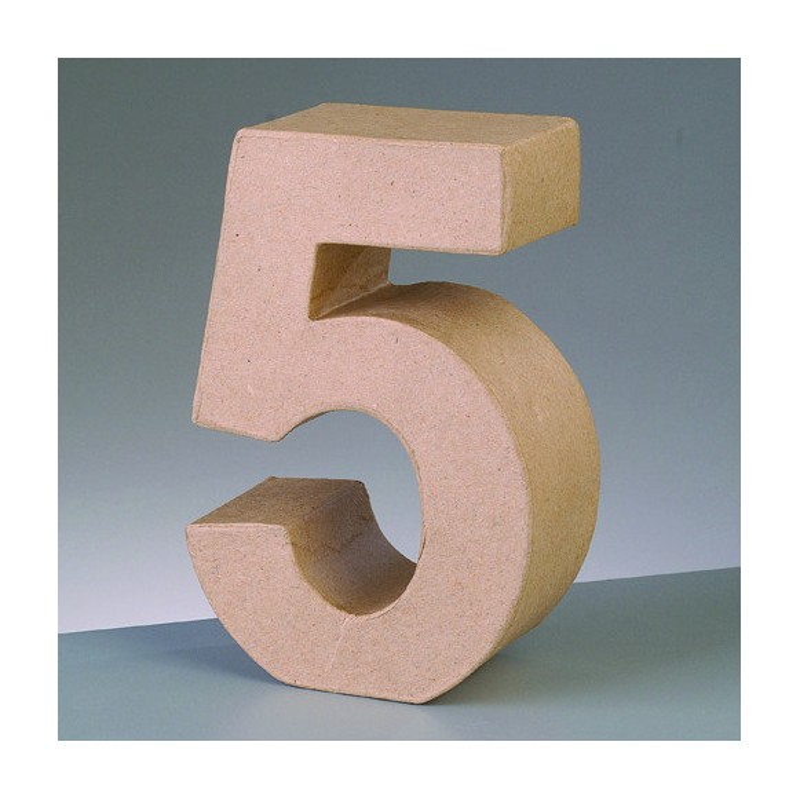Número cartón 5
