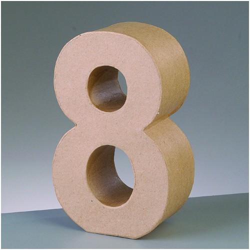 Número cartón 8