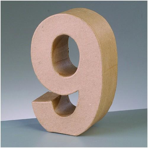 Número cartón 9