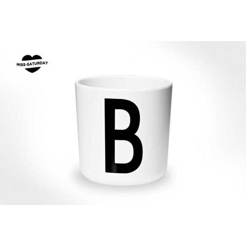 Vaso melamina - Letra B
