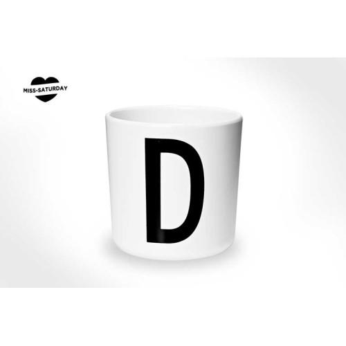 Vaso melamina - Letra D