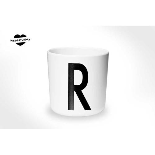 Vaso melamina - Letra R