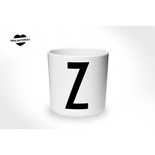 Vaso melamina - Letra Z
