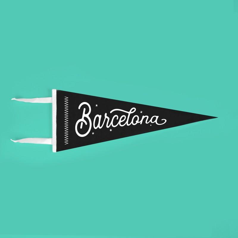Banderín Barcelona