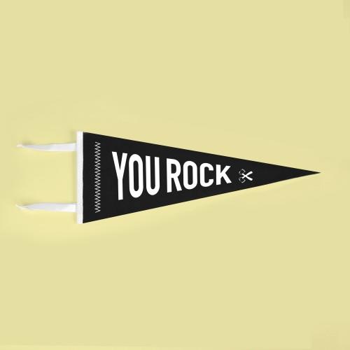 Banderín You Rock