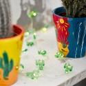 Guirnalda luces mini cactus