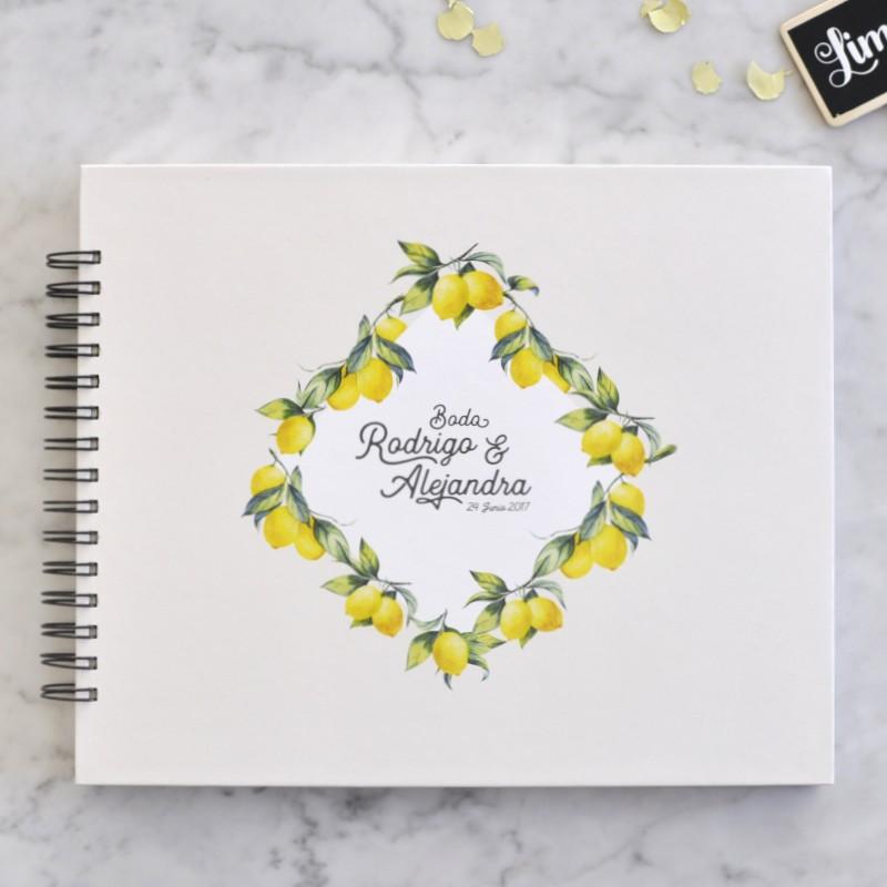 Álbum personalizado limones