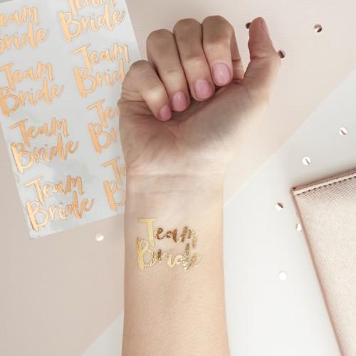 16 Tatuajes Equipo de la novia