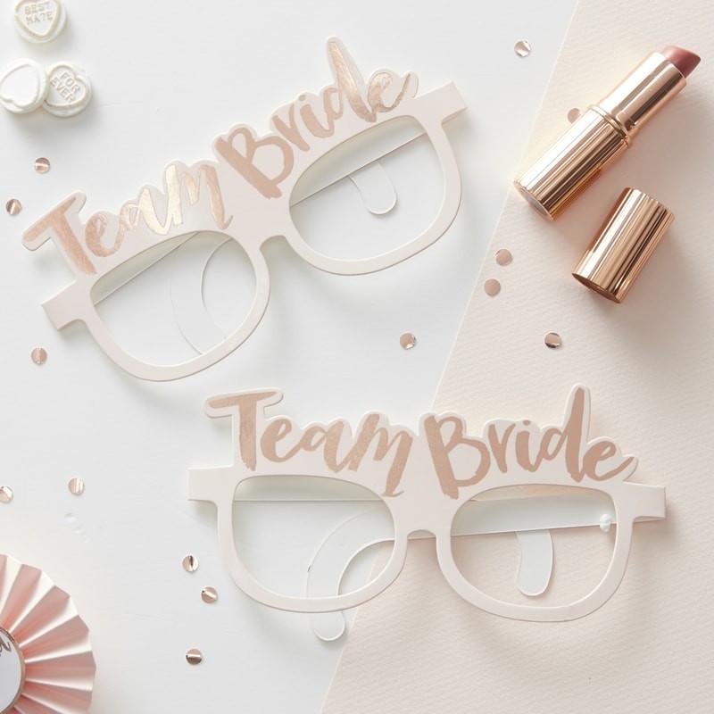 8 Gafas Team Bride