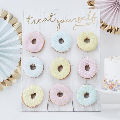 Pared de donuts
