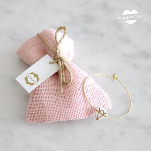 Pulsera Bride to be en Oro