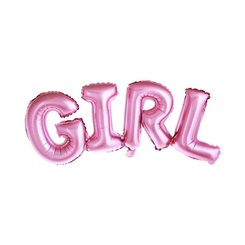 Globo foil Girl
