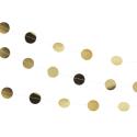 guirnalda puntos dorados