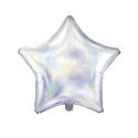 Globo iridiscente estrella