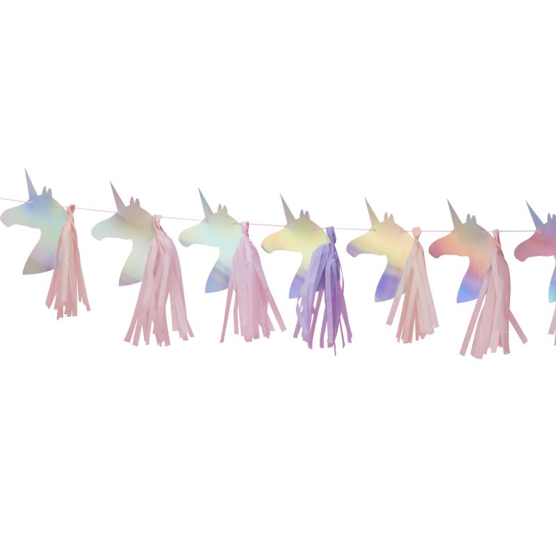 Guirnalda Unicornios y Tassels