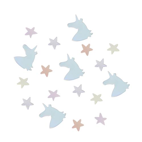 Confetis unicornio