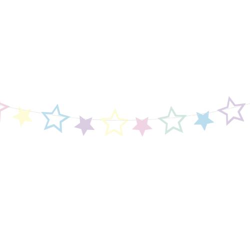 Guirnalda Estrellas de colores