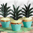 6 Mini toppers piña