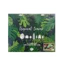 Pack 21 Hojas Tropicales