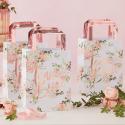 5 Bolsas despedida floral