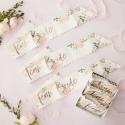 Seis bandas Team Bride Floral