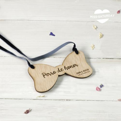 Collar personalizado perro Pajarita