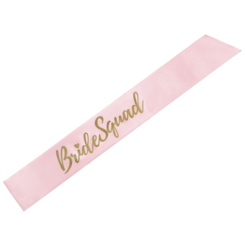 Banda raso Bride Squad rosa