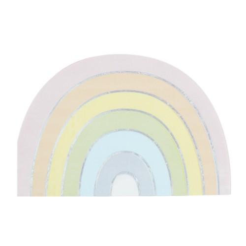16 Servilletas Arco Iris