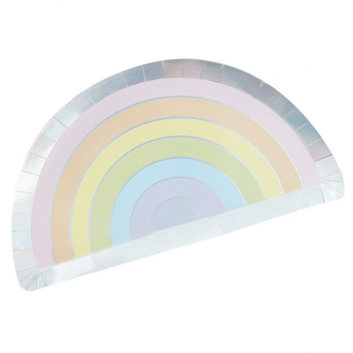 8 Platos Arco Iris
