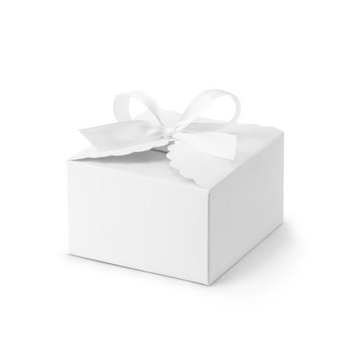 10 cajitas blancas para detalle