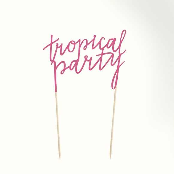 Topper Tropical Party