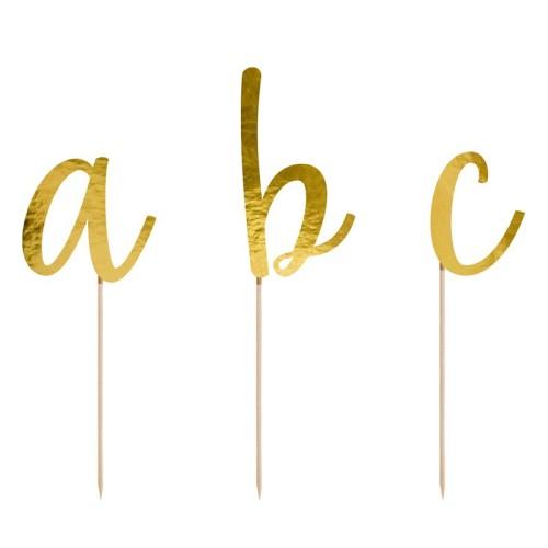 Topper alfabeto A-Z
