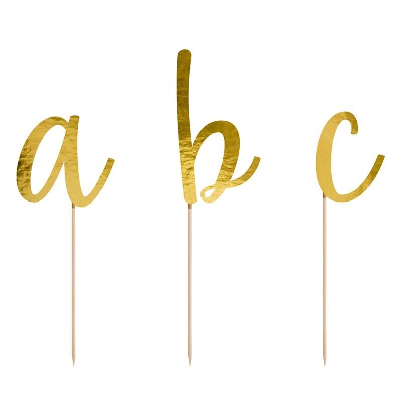 Topper alfabeto