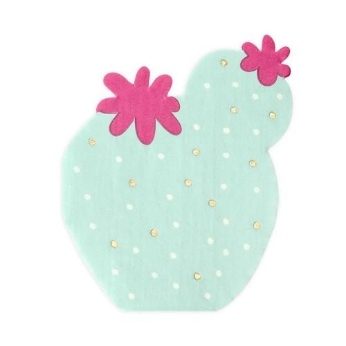 20 Servilletas Cactus Mint