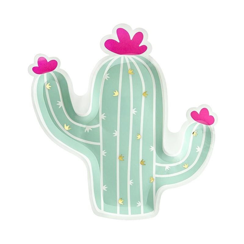6 Platos Cactus