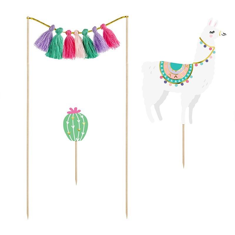 Toppers Llama cactus