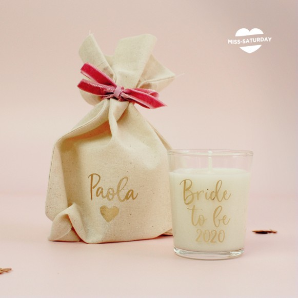 Vela perfumada Bride To Be 2020