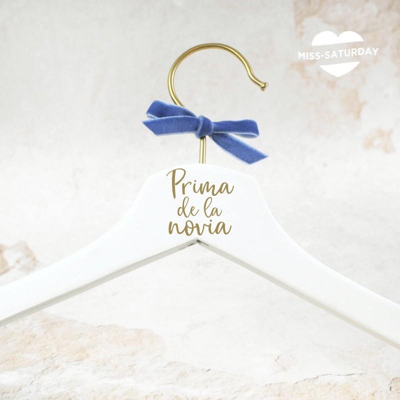 Percha Prima/o del/ la novia/o