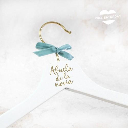 Percha Abuela/o de la novia/o