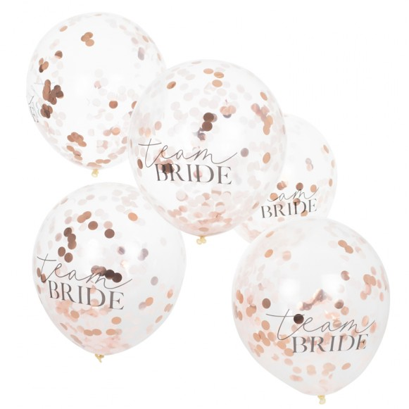 Globos Team Bride