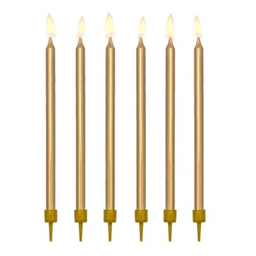 12 velas doradas