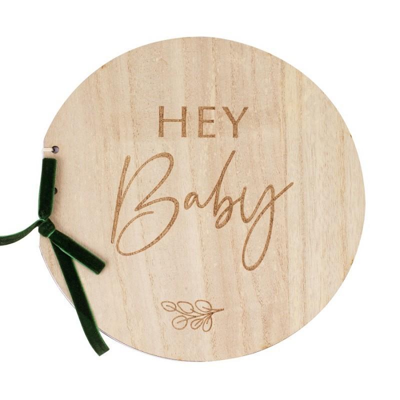 Álbum de firmas Hey Baby