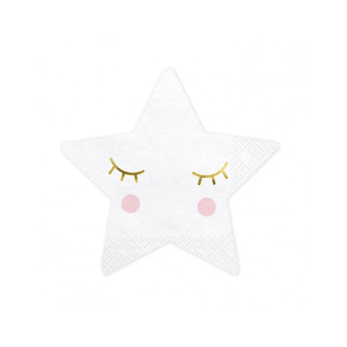 20 Servilletas Estrellas