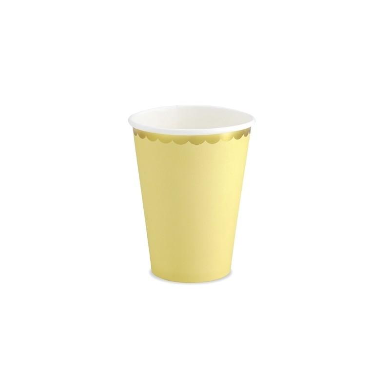 Vasos amarillo