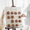Soporte de madera para donuts