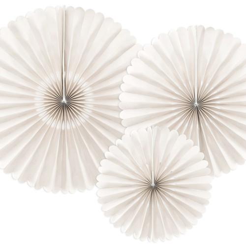3 Abanicos beige