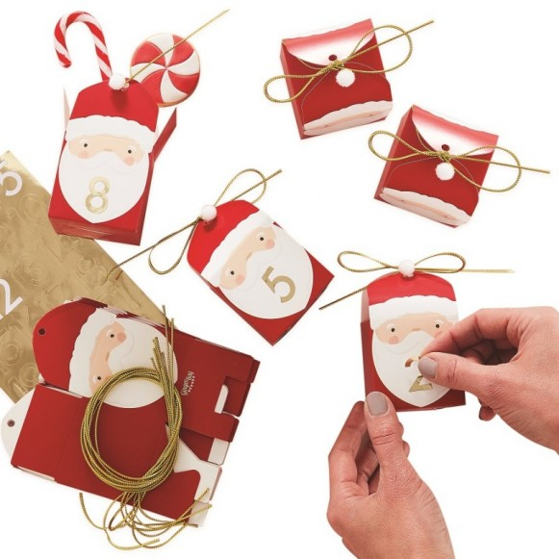 Calendario adviento Papa Noel