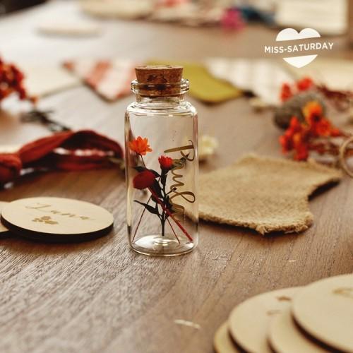 6 Marcasitios navidad botellita