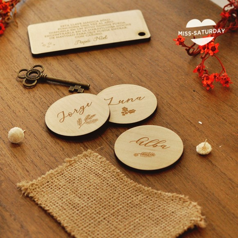 Marcasitio navidad círculo